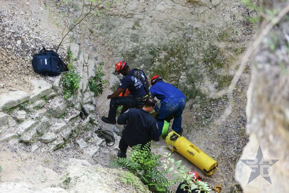 Firefighters Remove Teenager Trapped For Hours 350 Feet