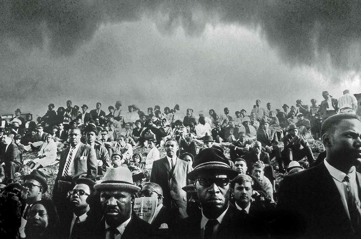 """John Shearer, an award-winning former Life and Look photographer, is the featured artist """"Chasing the Light"""" at the Lionheart Gallery, just over the New Canaan border in Pound Ridge, N.Y. Among his work was coverage of the funeral of Martin Luther King Jr. in 1968."""