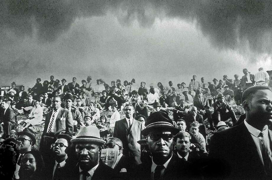 """John Shearer, an award-winning former Life and Look photographer, is the featured artist """"Chasing the Light"""" at the Lionheart Gallery, just over the New Canaan border in Pound Ridge, N.Y. Among his work was coverage of the funeral of Martin Luther King Jr. in 1968. Photo: Contributed Photo, Staff Photographer / New Canaan News Contributed"""