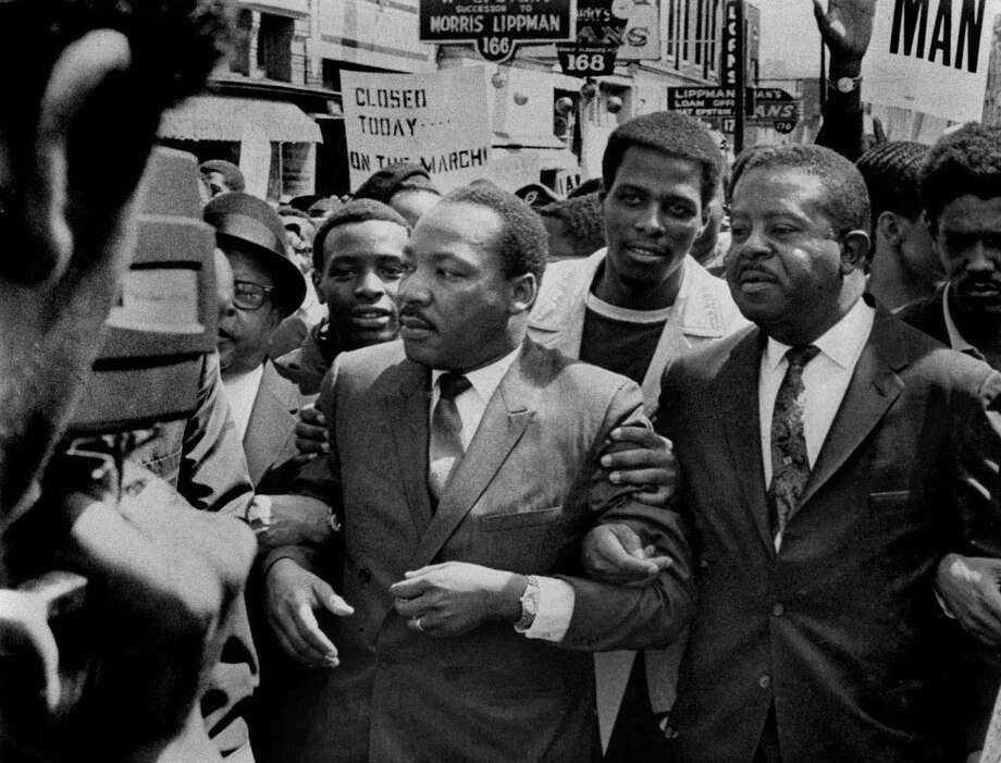 "Steve Berry's new historical thriller, ""The Bishop's Pawn,"" explores the FBI's connection to Martin Luther King, Jr. Photo: SAM MELHORN, MBR / COMMERCIAL APPEAL"