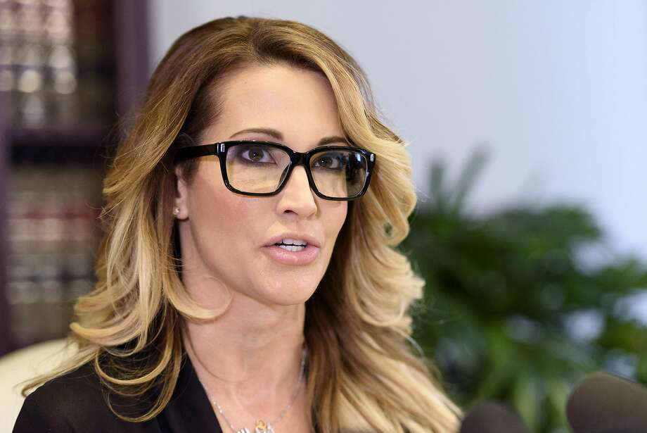 Adult film actress Jessica Drake in Los Angeles on October 22, 2016. She was listed in the agreement following Donald Trump's alleged extramarital affair with Stormy Daniels. (Ronen Tivony/NurPhoto/ZUMA Press/TNS) Photo: Ronen Tivony, TNS