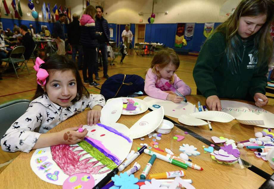 On Saturday, March 24, the Easter Bunny will host the 29th Annual Silvermine Community Association Pancake Breakfast. Photo: Erik Trautmann / Hearst Connecticut Media / Norwalk Hour