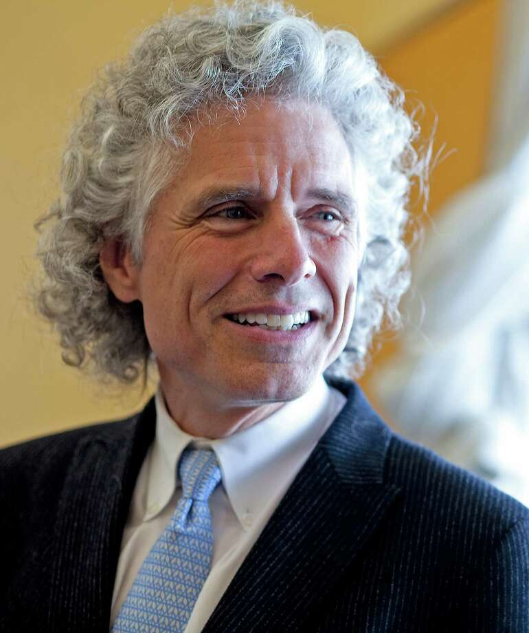 Steven Pinker says our big brains make us suited to fighting entropy to making improvements. Photo: Rose Lincoln, Harvard University, Harvard Staff Photographer / @ Harvard University