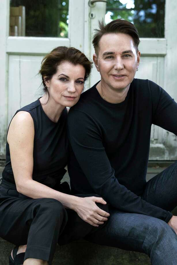 """""""The Sandman"""" is a novel by Lars Kepler, a pen name for husband-and-wife writing team Alexandra Coelho Ahndoril and Alexander Ahndoril. Photo: Ewa Marie Rundquist"""