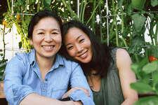 Niki Nakayama & Carole Iida at home in their Culver City Garden.  Click ahead to see the magic of their garden.