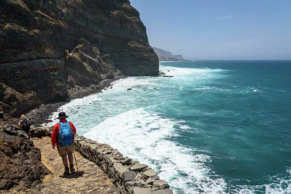 Cape Verde, Santo Antao, Ponta do Sol, The Coast of Santo Antao.