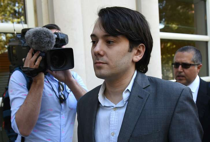 "(FILES) In this file photo taken on June 26, 2017 Martin Shkreli, the former Turing Pharmaceuticals executive arrives for the first day of jury selection in his federal securities fraud trial at United States District Court Eastern District of New York in Brooklyn. The former pharmaceuticals executive who became known as ""Pharma Bro,"" and once dubbed the most hated man in America for ratcheting up the price of an HIV drug, was sentenced on March 9, 2018, to seven years prison on charges of defrauding investors. / AFP PHOTO / TIMOTHY A. CLARYTIMOTHY A. CLARY/AFP/Getty Images"