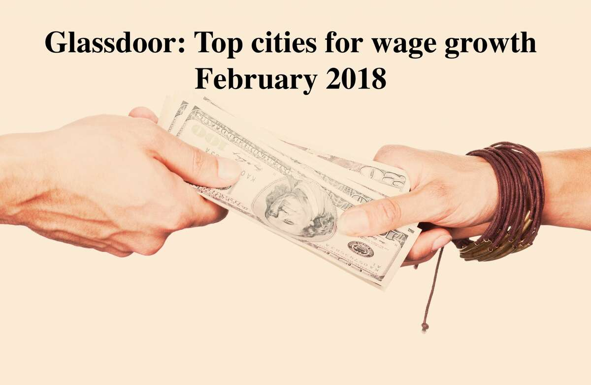 Glassdoor recently released its latest local pay report and found that salary growth across the U.S. was up in February, but certainly not as much as the peak last January. Nationally, median base pay grew 1 percent from a year earlier. Keep clicking to see the top 10 cities for wage growth around the U.S.