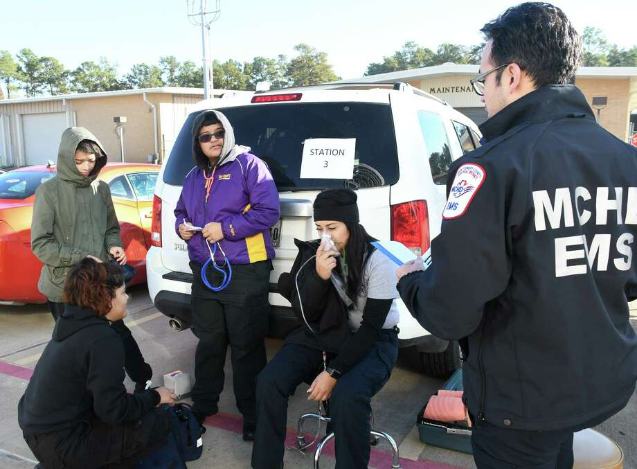 Once they are ready and have qualified, students at San Jacinto College can advance in their pursuit of higher levels of EMT training. / Courtesy of San Jacinto College