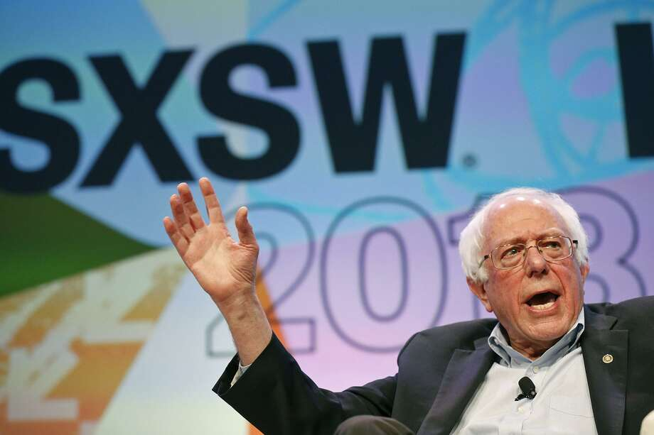 Vermont Sen. and former Democratic presidential candidate Bernie Sanders speaks during SXSW Friday March 9, 2018 in Austin, Tx. Photo: Edward A. Ornelas, Staff / San Antonio Express-News / © 2018 San Antonio Express-News
