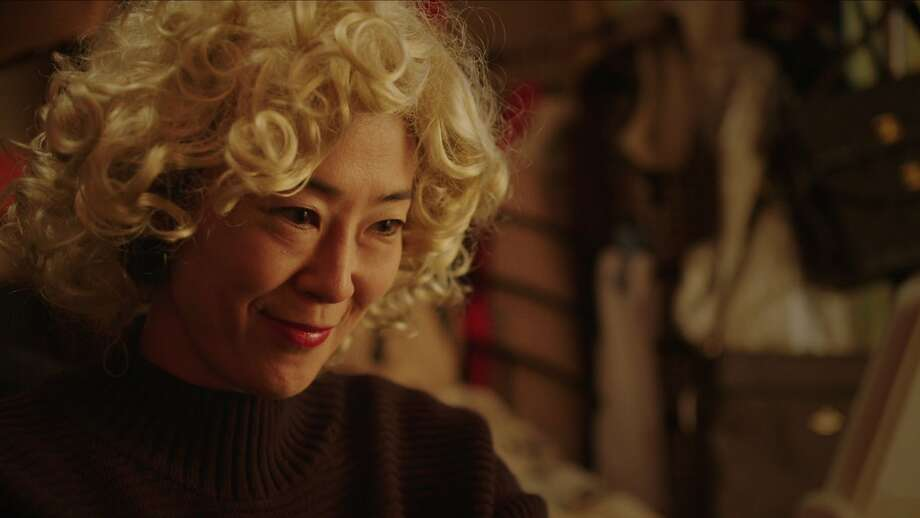 """Shinobu Terajima plays the title character in """"Oh Lucy!,"""" a Japanese office worker who is studying English. It's the debut feature from San Francisco filmmaker Atsuko Hirayanagi. Photo: Film Movement"""