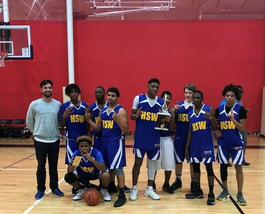 The Texans Can Academy-Houston Southwest boys varsity basketball team won the Texas Charter School Academic and Athletic League East Texas Regional Championship in its first year of play. The No. 2 seed in the tournament, Houston Southwest defeated No. 1 YES Preparatory: Southeast in the final. Photo: Texans Can Academy-Houston Southwest