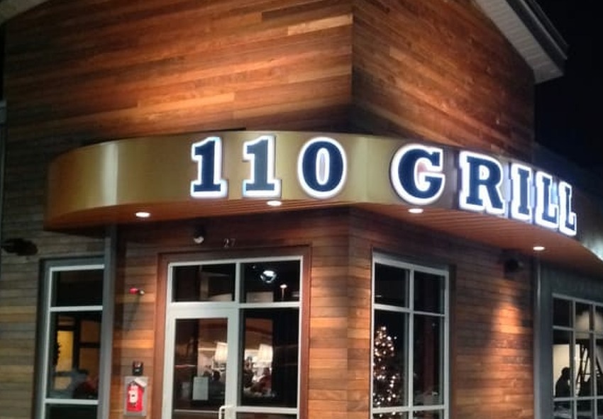 A new restaurant, 110 Grill, is slated to open in summer 2018 at Crossgates Mall in Guilderland. The restaurant chain plans to open several other locations in the Northeast in 2018 and 2019
