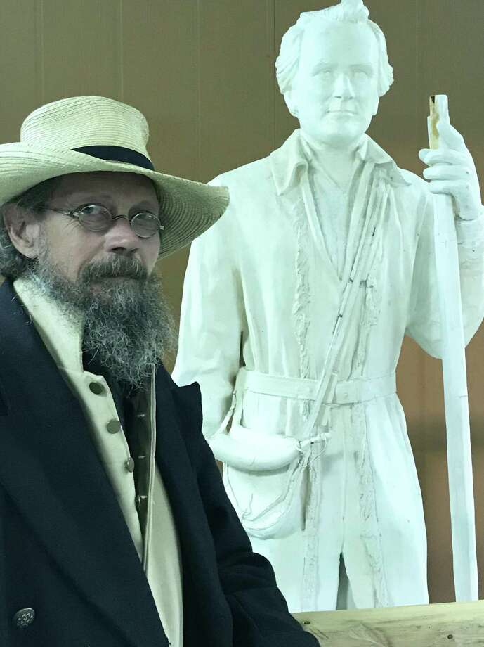 Local historian James Glover has been intrigued with early Texas history for nearly four decades. Photo: Joe Holley/Houston Chronicle / Houston Chronicle
