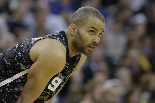 Spurs point guard Tony Parker finished with 11 points in 18 minutes in Thursday's loss to the Warriors.