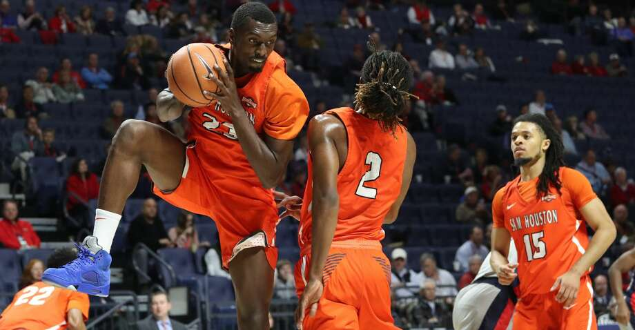 A couple of weeks from when teams will be competing in the Sweet 16 of the NCAA Tournament, Sam Houston State found itself facing the Bitter 16. Photo: Josh Taylor McCoy/Ole Miss Athletics