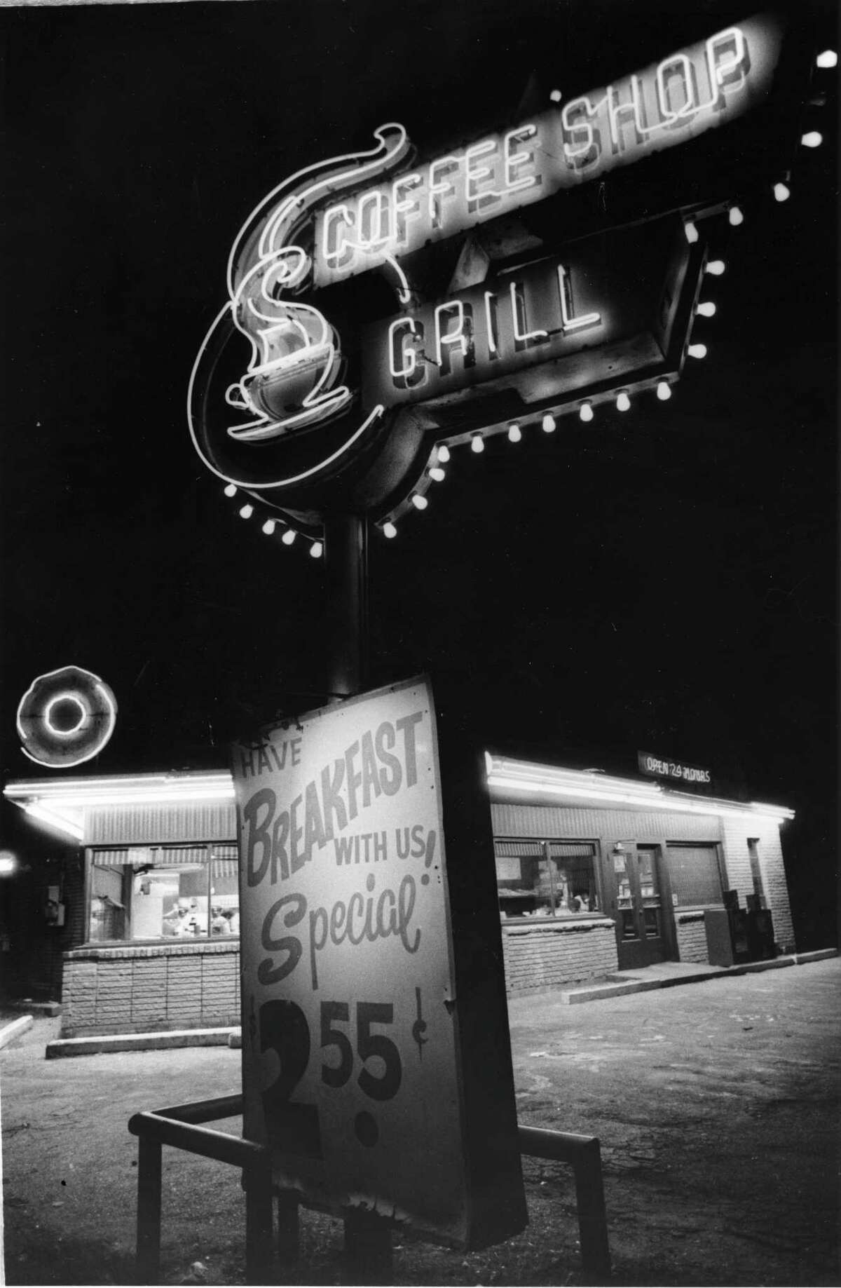 11/10/1982 - Shipley's Do-nut and Grill on West Gray is open 24 hours.