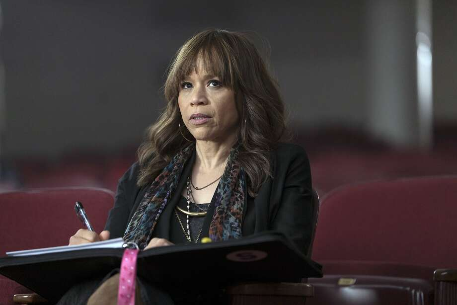"""Rosie Perez is the outspoken Tracy in the series """"Rise."""" Photo: Peter Kramer, Associated Press"""