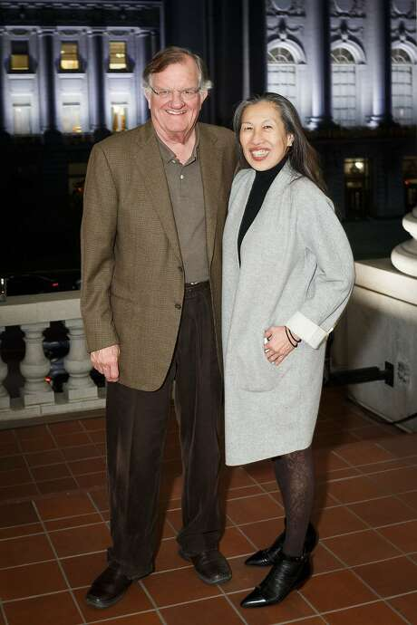 Steve Oliver and Moy Eng, of the Community Arts Stabilization Trust, help art groups buy buildings. Photo: Drew Altizer Photography