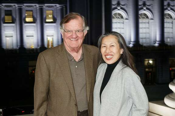Steve Oliver, president of the board of the Community Arts Stabilization Trust, and its executive director, Moy Eng, are trying to help arts groups buy buildings and stay in San Francisco.  Photo: Drew Altizer Photography