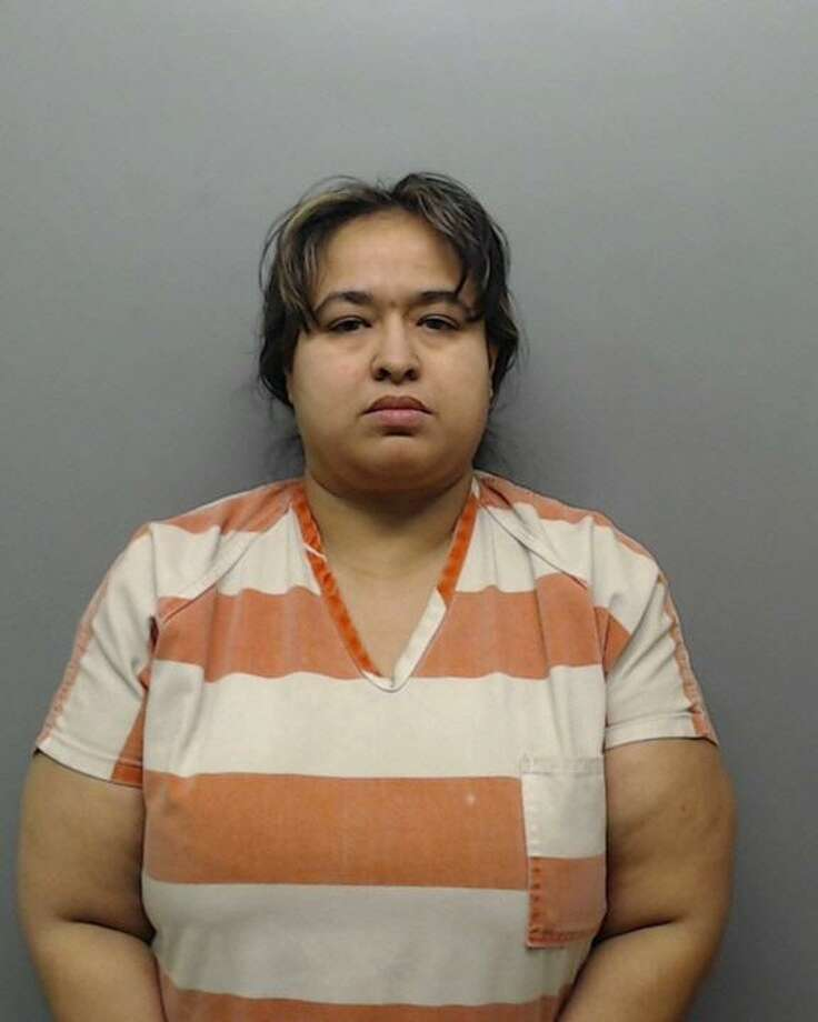 Elida Espinoza, 36, was charged Thursday with theft and engaging in organized criminal activity. Photo: Webb County Sheriff's Office