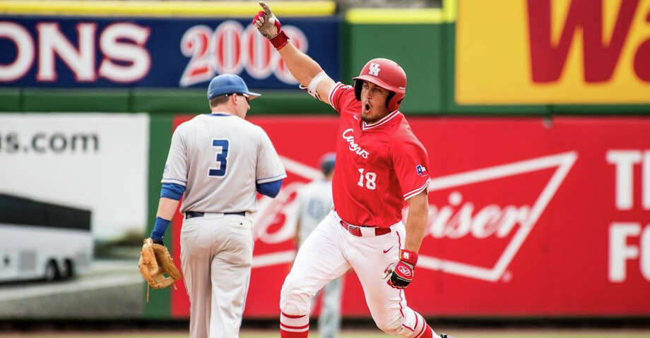 Grayson Padgett's heroics earned UH a win on Friday night, but his 12th-inning walkoff homer proved to be just as touching and inspiring as it was victorious. Photo: University Of Houston Athletics