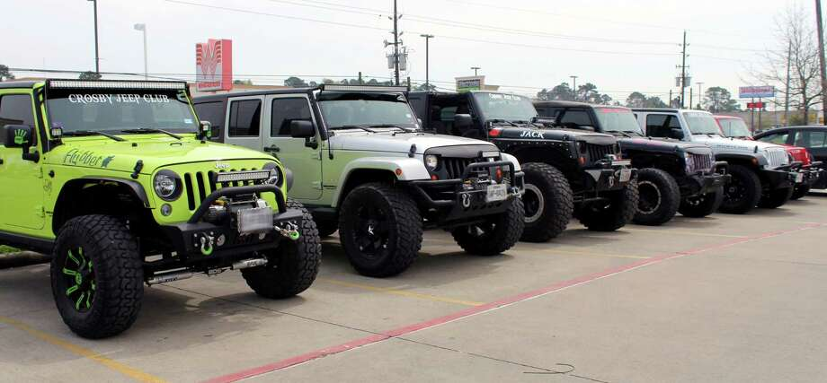 Crosby Jeep Club Photo: Kaila Contreras