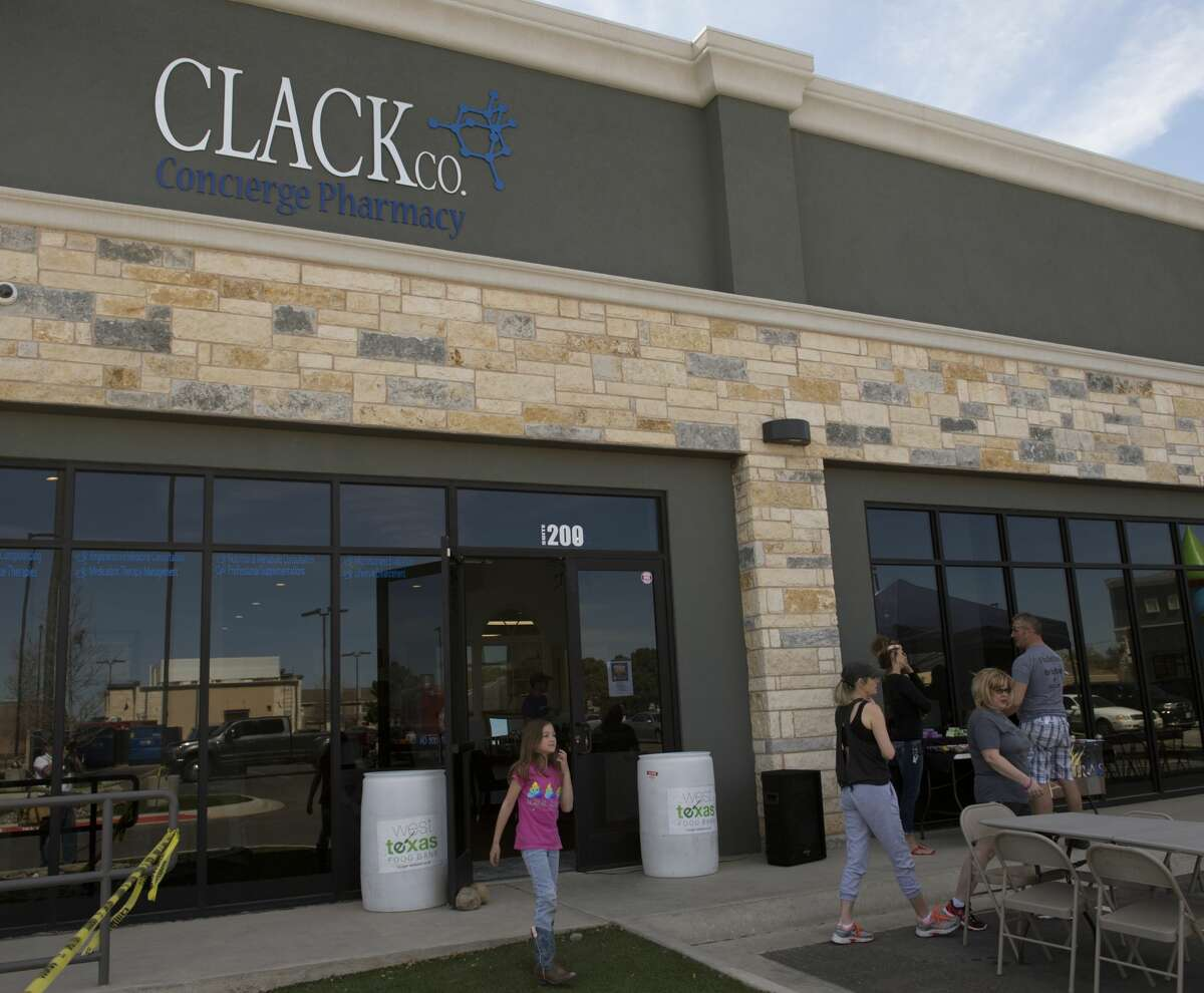 Clack Co Concierge Pharmacy had an open house 03/10/18, after opening in Janurary. Tim Fischer/Reporter-Telegram
