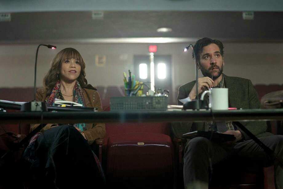 "Rosie Perez and Josh Radnor star in ""Rise."" Photo: Peter Kramer, HONS / 2017 NBCUniversal Media, LLC"