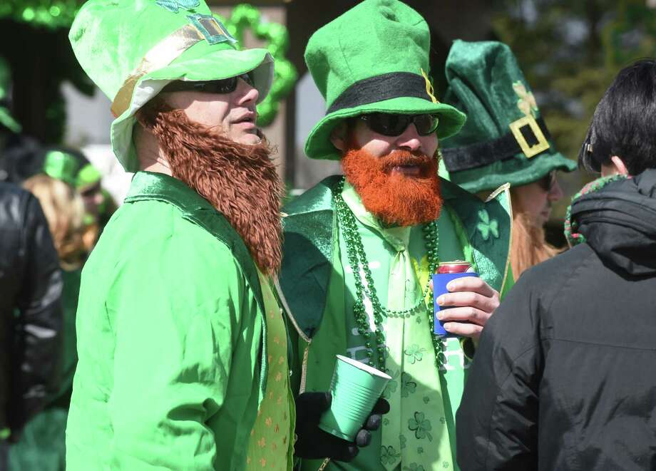 The annual St. Patrick's Day Parade on March 10, 2018. Photo: Arnold Gold, Hearst Connecticut Media / New Haven Register