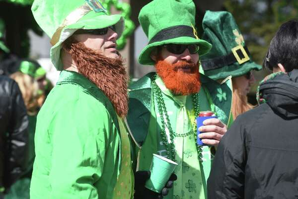 The annual St. Patrick's Day Parade on March 10, 2018.