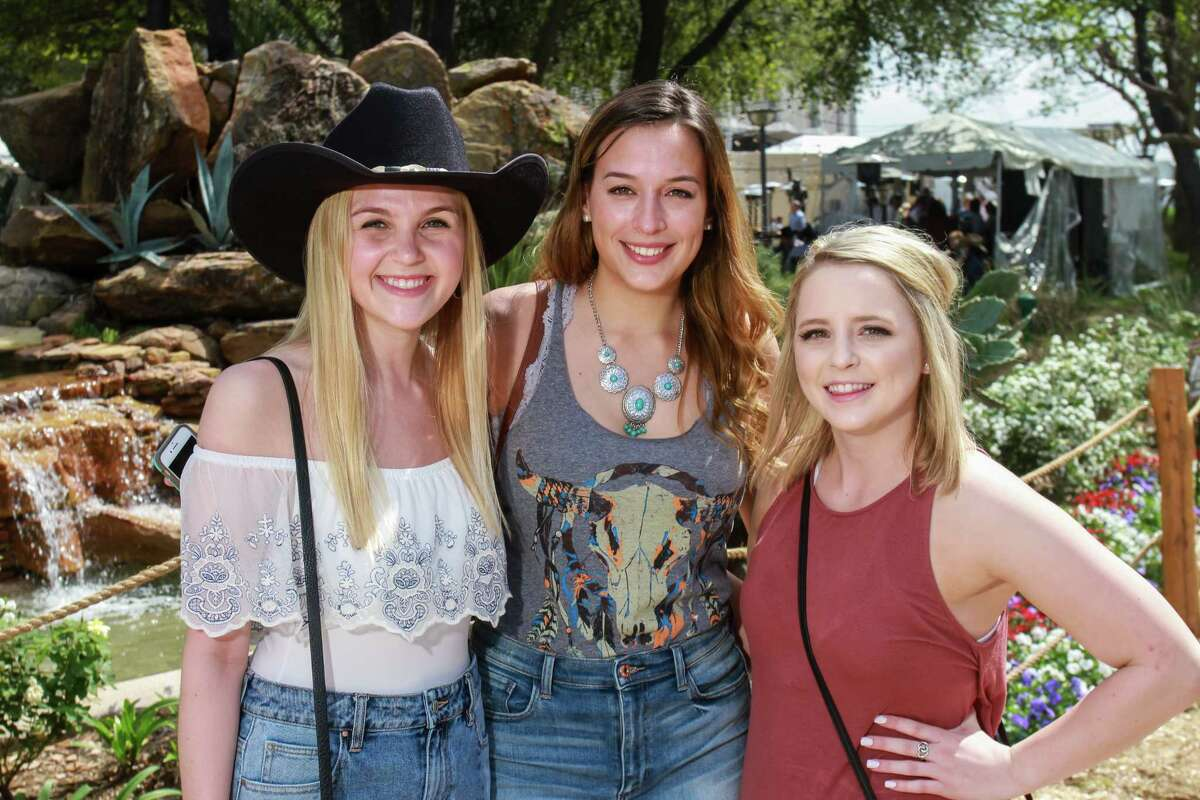 Fans attending the Cody Bryan rodeo show.
