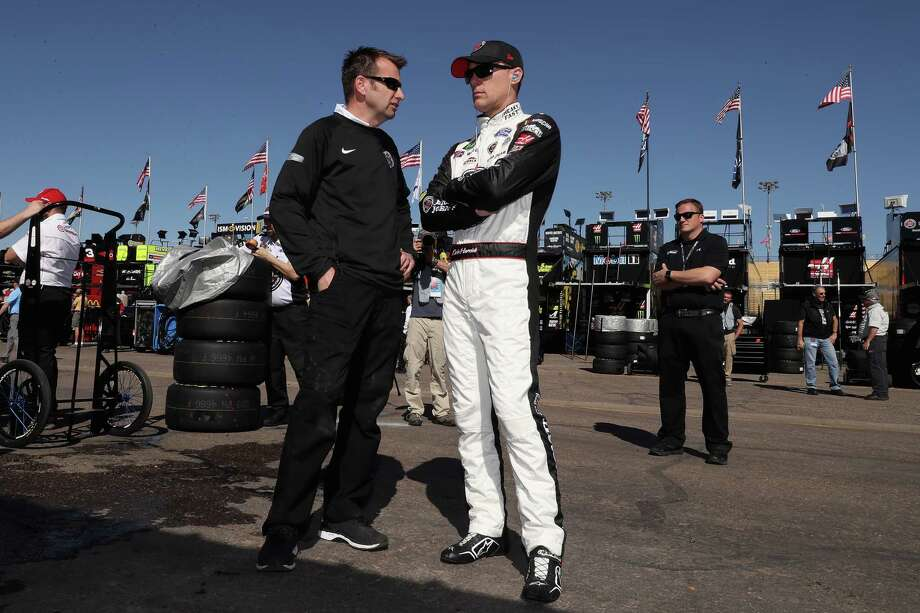 AVONDALE, AZ - MARCH 09:  Kevin Harvick, driver of the #4 Jimmy John's Ford, stands in the garage area during practice for the Monster Energy NASCAR Cup Series TicketGuardian 500 at ISM Raceway on March 9, 2018 in Avondale, Arizona.  (Photo by Christian Petersen/Getty Images) Photo: Christian Petersen, Staff / 2018 Getty Images