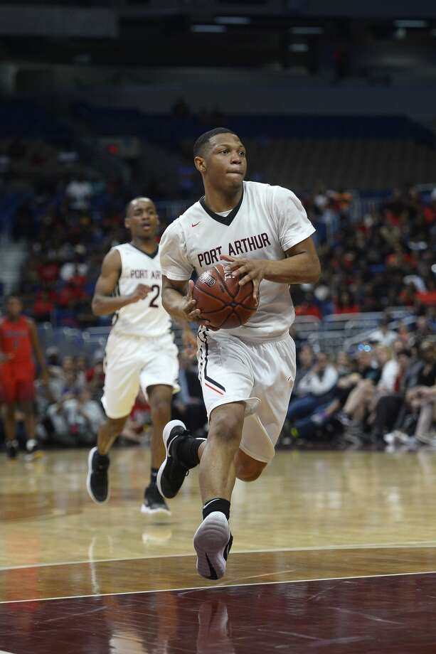 Memorial's Darion Chatman drives against Northwest in the class 5A state final at the Alamodome in San Antonio on Saturday afternoon.   Photo taken Saturday 3/10/18 Ryan Pelham/The Enterprise Photo: Ryan Pelham/Ryan Pelham/The Enterprise