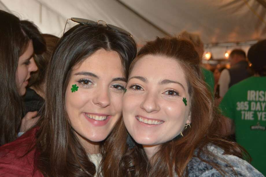 The Norwalk St. Patrick's Day parade was held on March 10, 2018. Revelers continued the celebration at O'Neill's Pub afterward. Were you SEEN at the after party? Photo: Vic Eng / Hearst Connecticut Media Group
