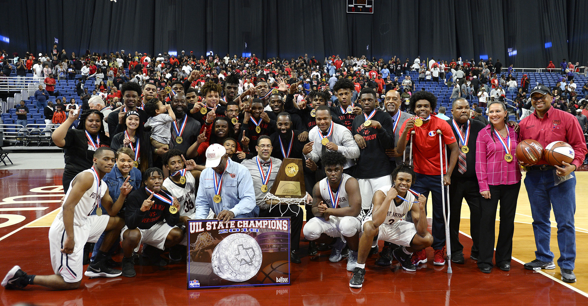 Port Arthur Memorial wins 5A state title game against Northwest