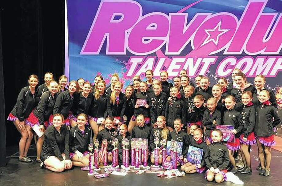 Members of Sara's Studio of Dance Competition Team recently competed in the Revolution Talent Competition in St. Louis, bringing home several awards in the process. Photo: Photo Provided