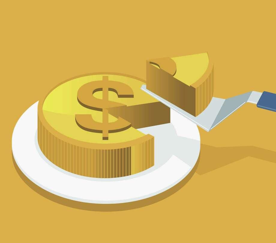 Money Slice Photo: Sorbetto /Getty Images / sorbetto