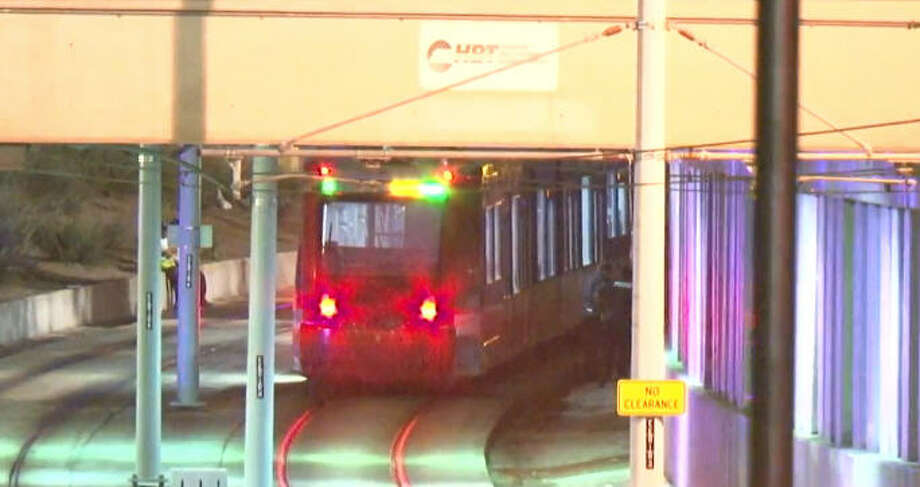 A man was killed by a METRO train overnight. Photo: Metro Video
