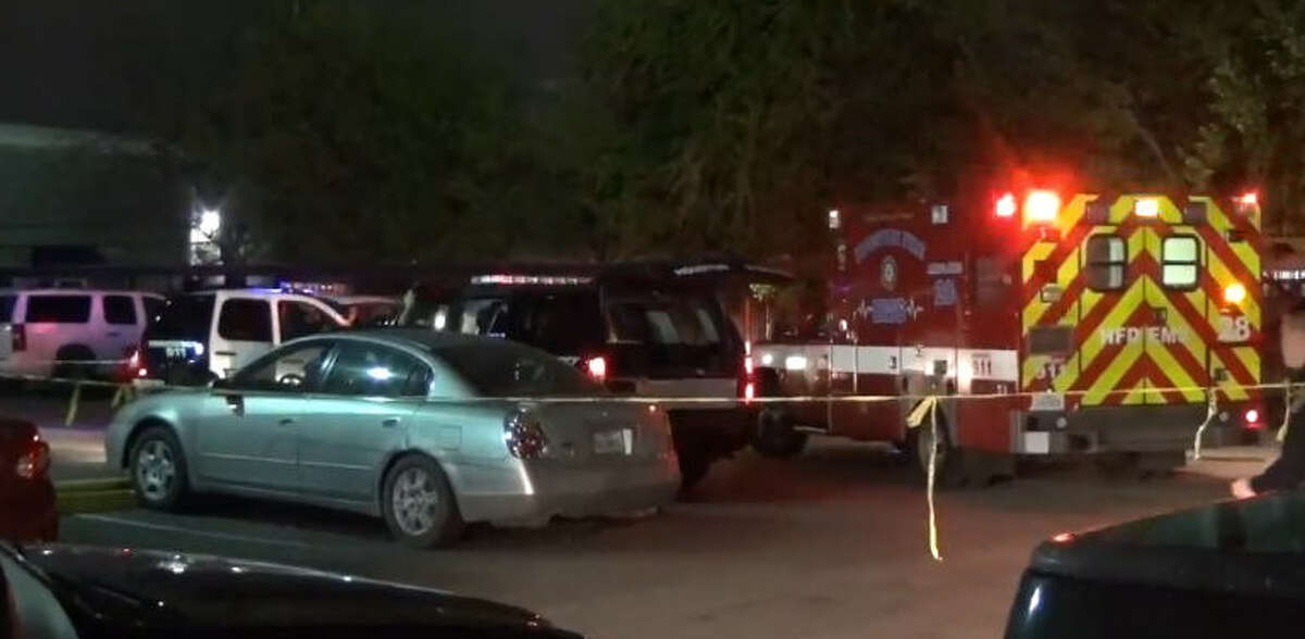 A fatal shooting overnight drew police to the 6300 block of Windswept. A fatal shooting overnight drew police to the 6300 block of Windswept. A fatal shooting overnight drew police to the 6300 block of Windswept.