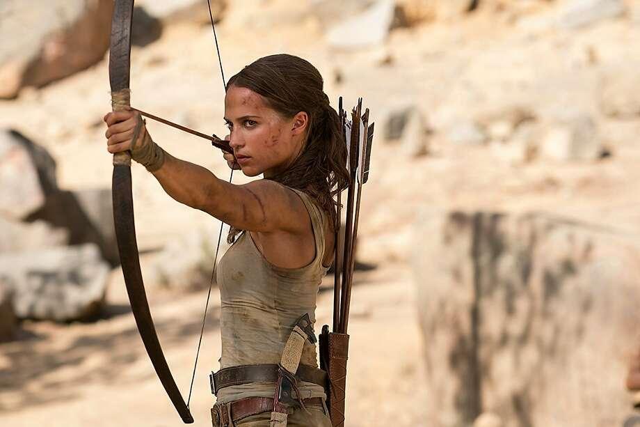 Alicia Vikander in 'Tomb Raider' Photo: Ilzek Kitshoff