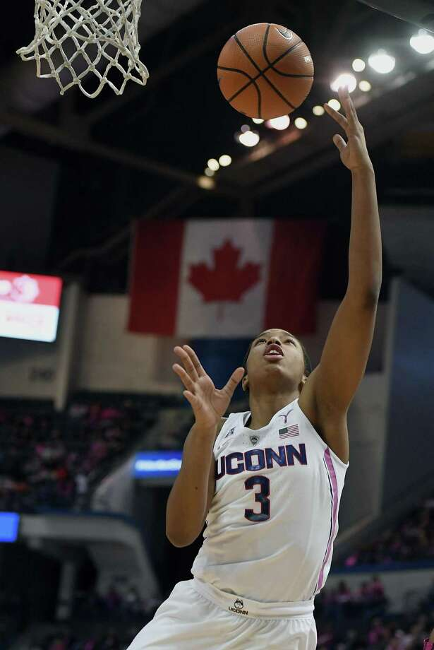 UConn freshman Megan Walker will look to step up her play in the NCAA tournament. Photo: Associated Press File Photo / AP2018