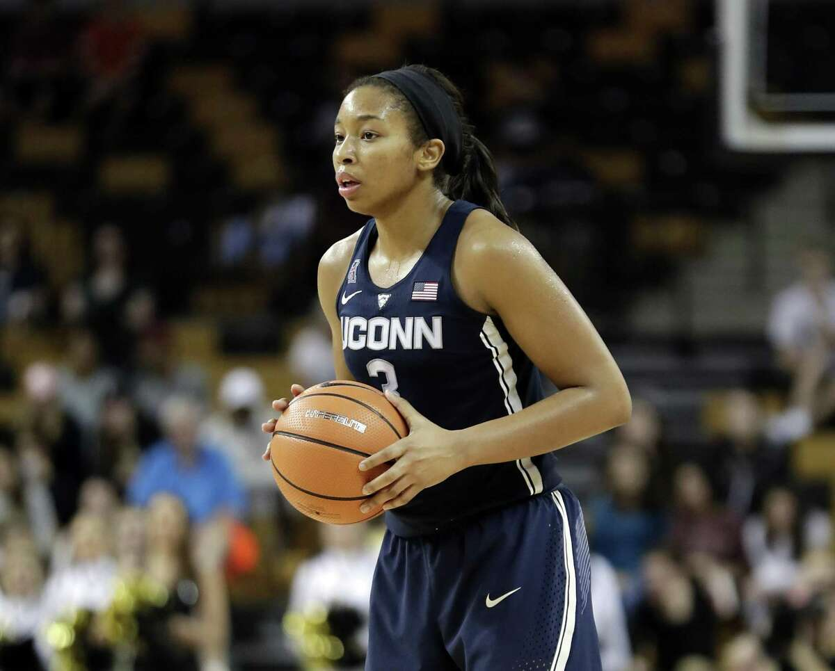 UConn freshman Megan Walker will look to step up her play in the NCAA tournament.