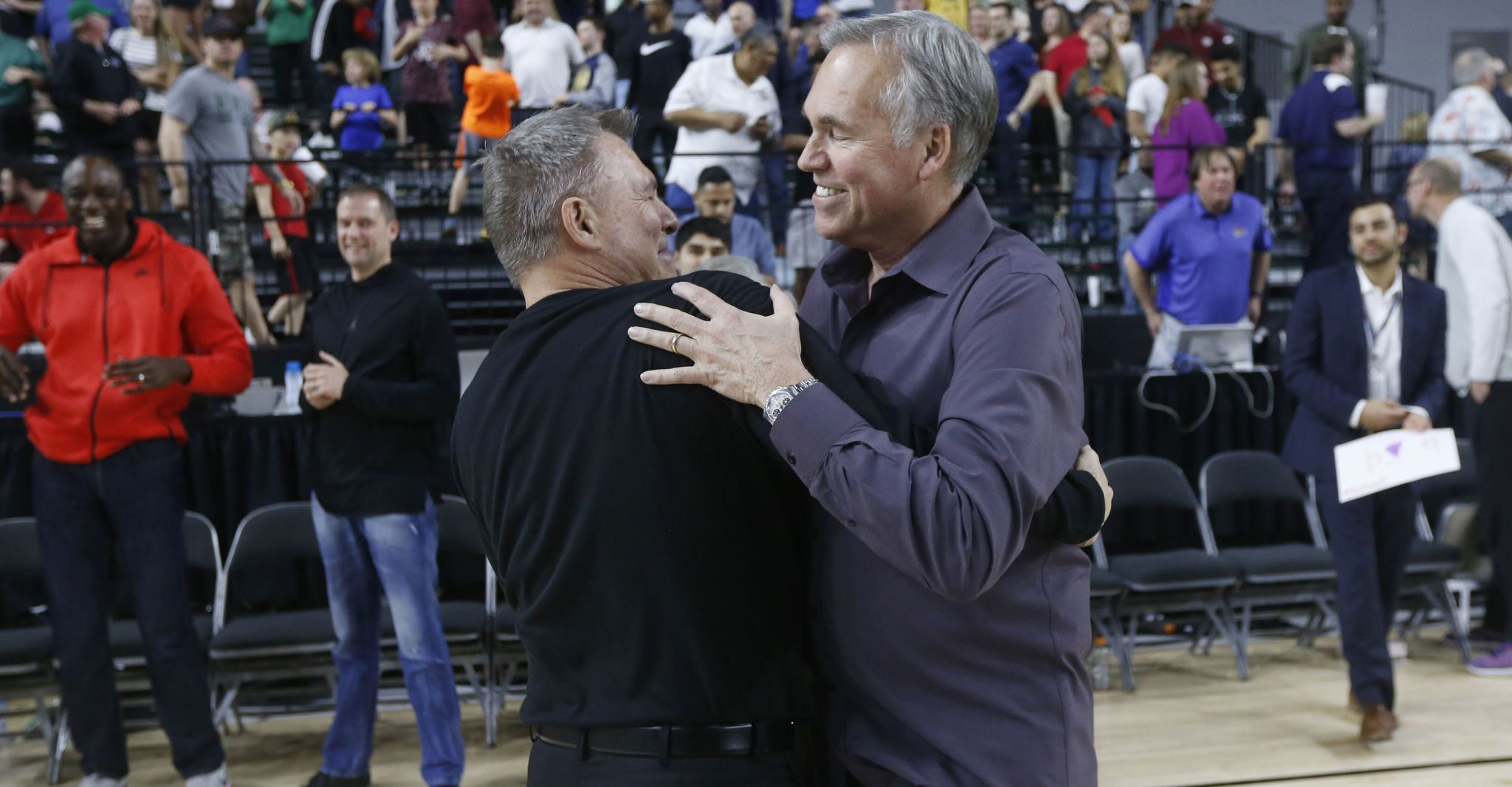 Rockets' Mike D'Antoni celebrated his brother Dan's C-USA tourney win with Marshall