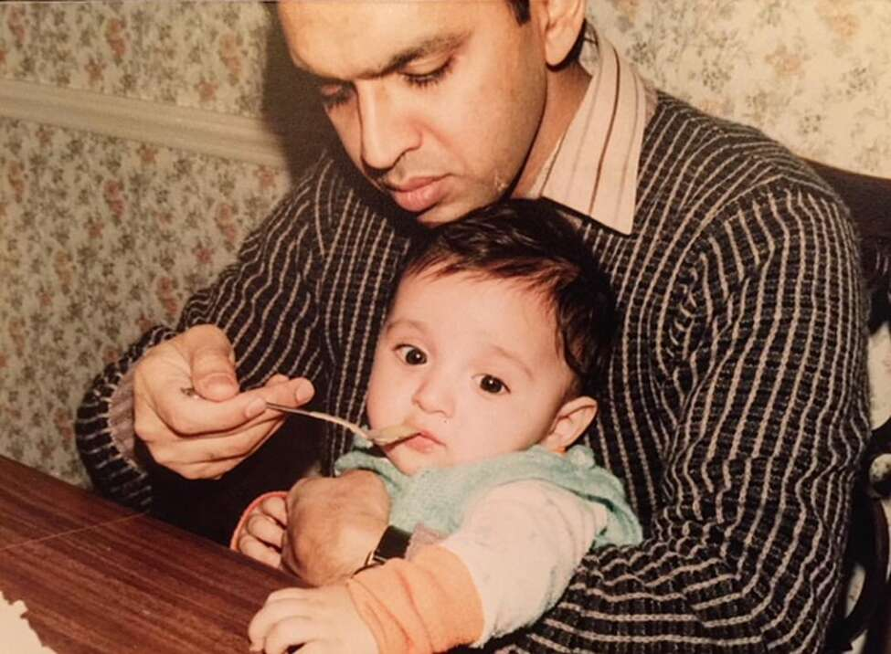 1. I am the first person born in America on my Dad's side of the family. He emigrated in the 1970s from Pakistan. I'm second generation on my Mother's side. Her parents came over from Eastern Europe after WWII.