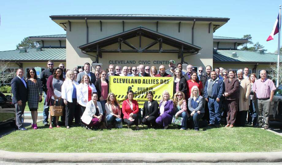 City officials gather with realtors, developers and others who are working toward the growth of Cleveland for Allies Day on Wednesday, March 7, at the Cleveland Civic Center. Allies Day is hosted each year by the City of Cleveland. Photo: Vanesa Brashier