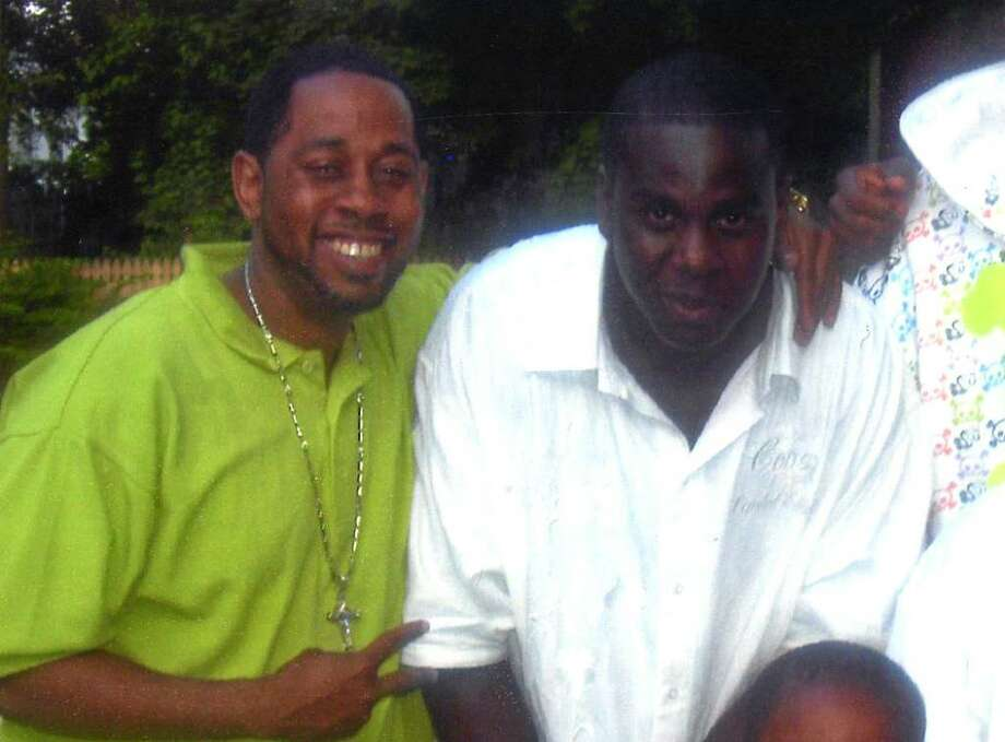 Frank Thompson, left, with Henry Ferrell, who was killed in Albany Sunday. (Courtesy Frank Thompson)