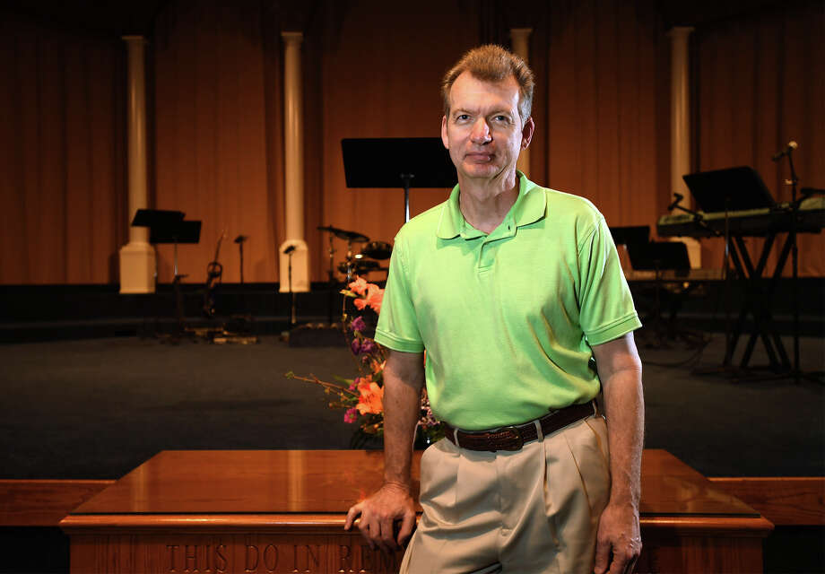 Around 40 churches will attend a church security seminar at Christian Fellowship church on Saturday. Rick White is the pastor at the church. Photo taken Friday, March 02, 2018 Guiseppe Barranco/The Enterprise Photo: Guiseppe Barranco, Photo Editor / Guiseppe Barranco ©