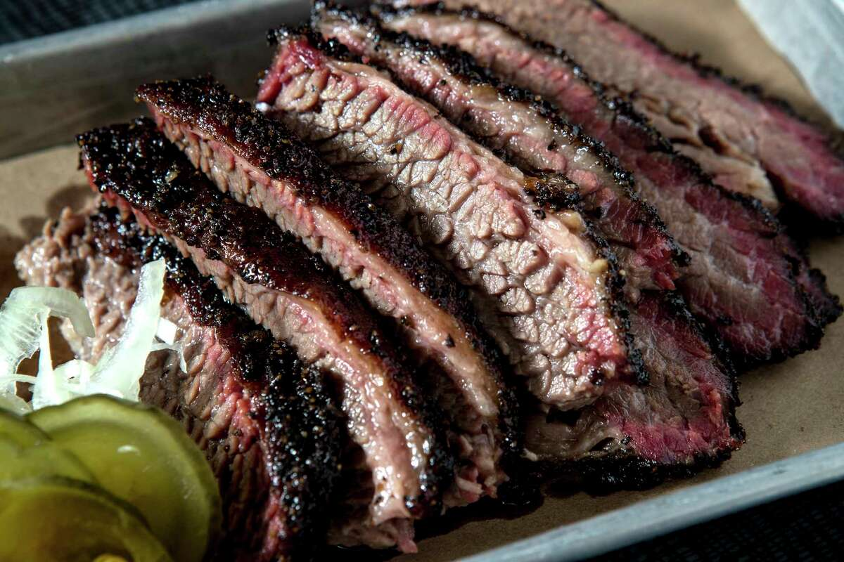 Brisket is among the offerings at IAH's most Instagram-ed venue. Q has become the most popular restaurant with United crew members, according to OTG hospitality group.