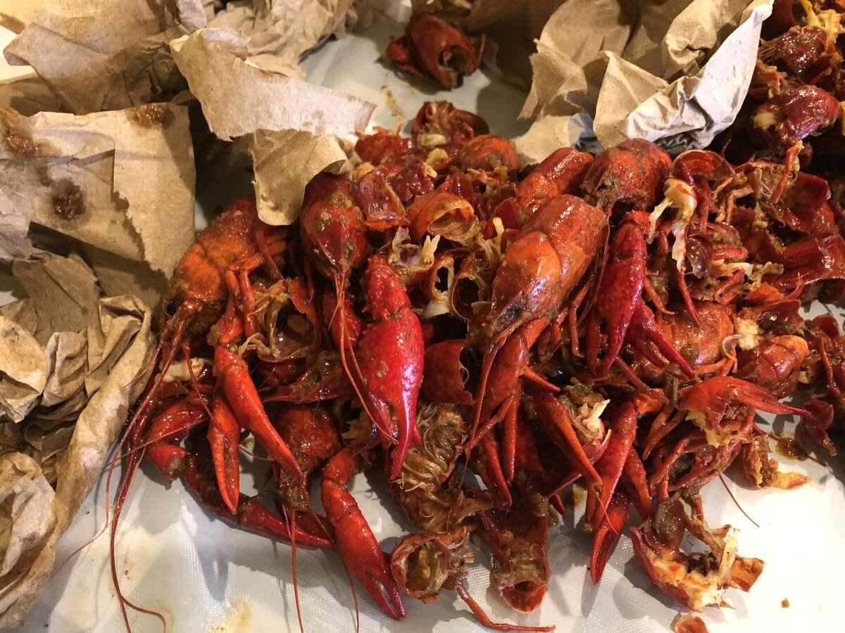 Where: CasianCrawfishChallenge: Carolina Reaper crawfish challenge - In 15 minutes, contestants must eat two pounds of Carolina Reaper-coated crawfish and endure five minutes of
